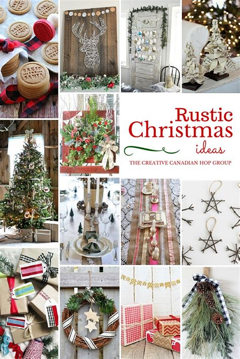 wood block faux christmas presents rustic christmas blog