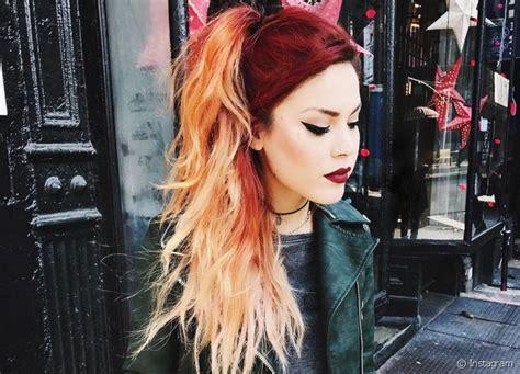 cabelo vermelho alaranjado  fotos da coloracao dicas