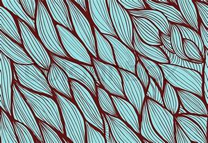 Abstract hand-drawn background, Seamless pattern with