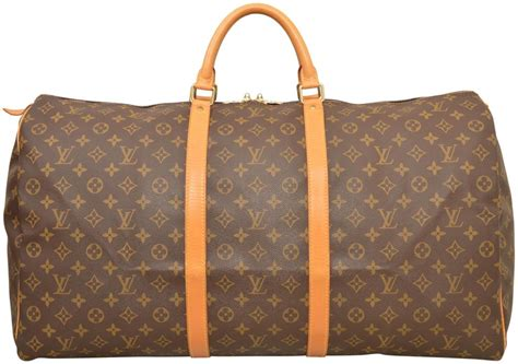 louis vuitton duffle keepall  carry  luggage