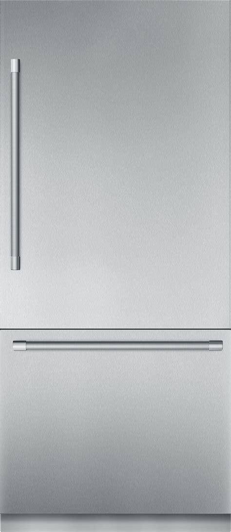 thermador tbbss  cu ft built   door bottom freezer stainless steel professional