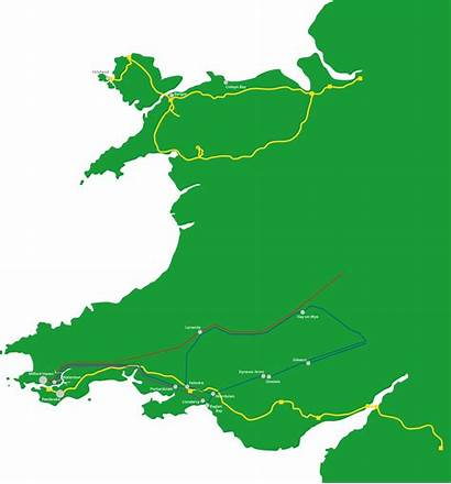 Grid Connection Wales Energy Map M4 Marine