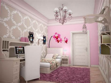 Sophisticated Teenage Girl Bedroom Ideas With Flower Theme Sophisticated Teenage Girl