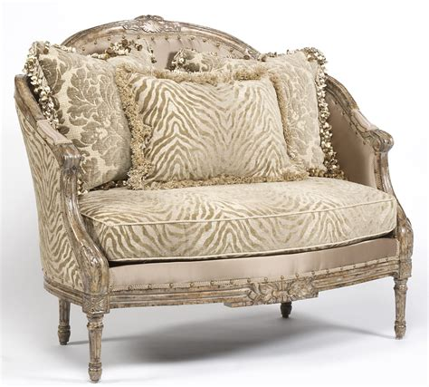 luxury settees zebra chic settee luxury home furnishings