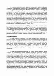 Descriptive Writing For Esl Adults