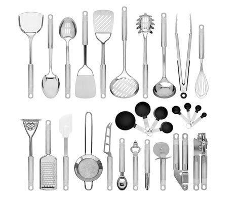 choice products set   stainless steel kitchen cookware utensils set wspatulas