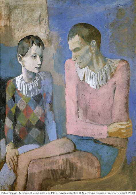beyeler foundation  young picasso blue  rose period world art foundations