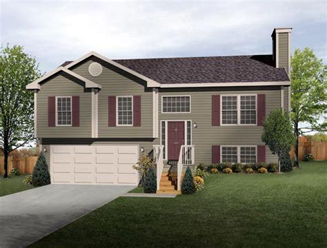 split level style split level house plan exterior colors diy home