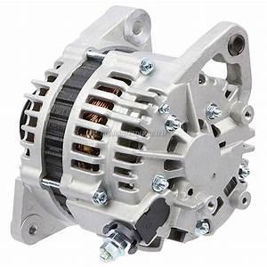 2000 Nissan Altima Alternator 2 4l Engine 31