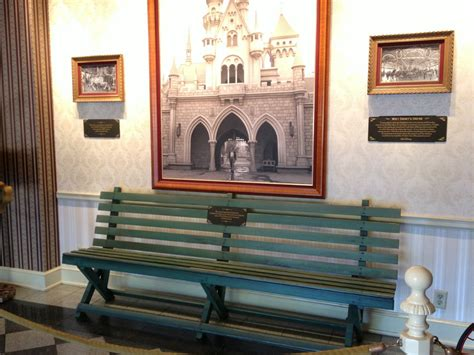 Walt Disney Bench by Things You Never Knew About Walt Disney Business Insider
