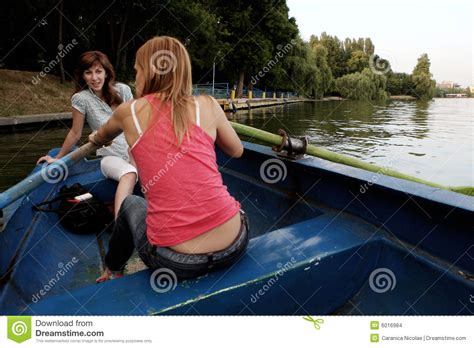Girls On Boats by Girls On A Boat Stock Images Image 6016984
