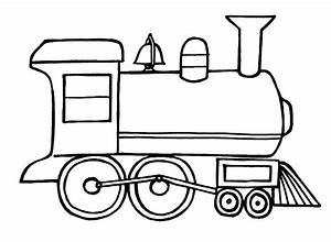 train coloring pages for kids - transportation coloring pages
