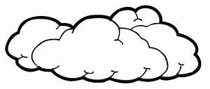Cloud Black And White Clipart - Clipart Suggest