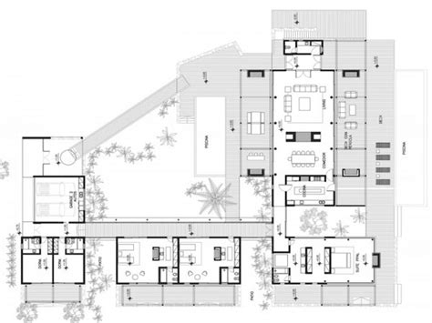 Concrete Modern House Plans Modern Beach House Plans