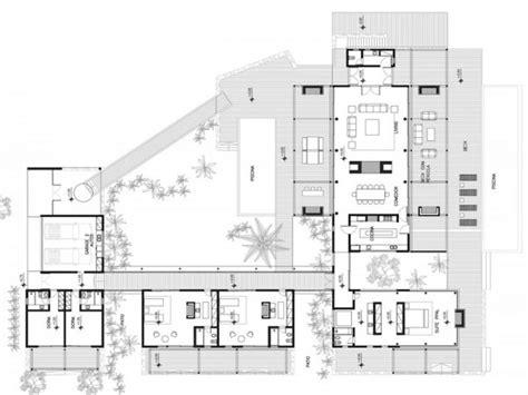 Concrete Modern House Plans Modern Beach House Plans