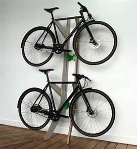 Elegant Bike Storage Solutions by Design Studio Quarterre
