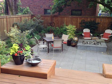 gardens bio swale concrete walls permeable pavers