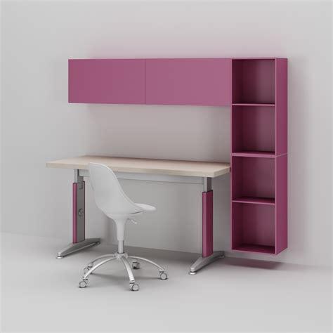 les de bureau bureau enfant fille réglable en hauteur compact