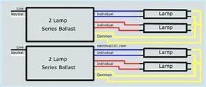 4 Bulb Ballast Wiring Diagram Sample