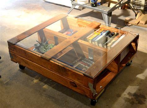 diy coffee table glass top the best 20 diy pallet coffee table projects for your Diy Coffee Table Glass Top