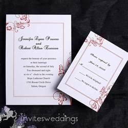 simple wedding invitations austere simple wedding invitation iwi106 wedding invitations invitesweddings