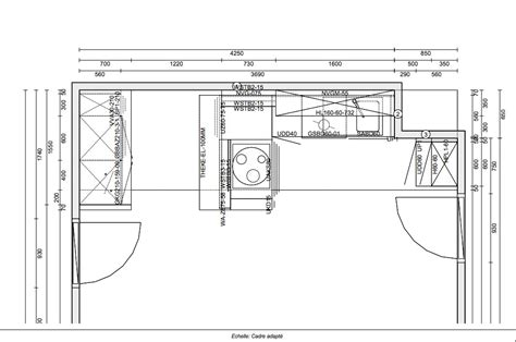 cuisine plan type exemple de devis de cuisine équipée deviscuisine co