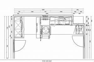 plan de cuisine amenagee cuisine en image With plan pour cuisine amenagee