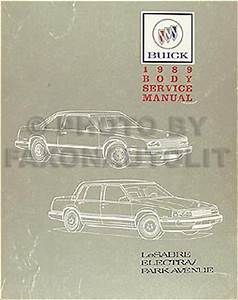 1991 Buick Park Avenue Ultra Lesabre Service Manual 91 Service Manual And The Electrical Wiring Diagrams Manual