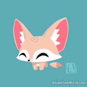 animal jam pet fennec fox   find codes