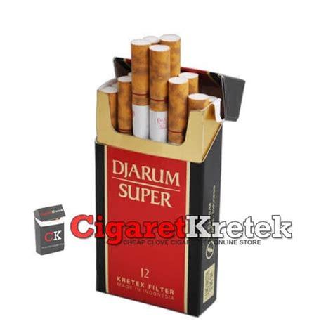 Djarum Super | Djarum Clove Cigarettes Indonesia