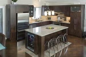 modele cuisine avec ilot alpha2 de haut de gamme With cuisine provencale avec ilot