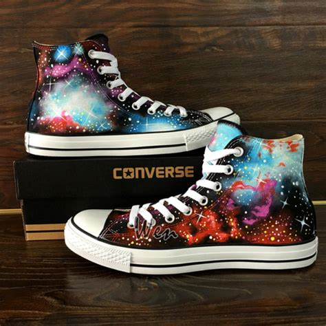 fantastic galaxy nebula original design converse  star
