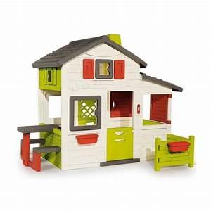 Maison Pour Enfant : smoby maison enfant friends house achat vente maisonnette ext rieure cdiscount ~ Teatrodelosmanantiales.com Idées de Décoration