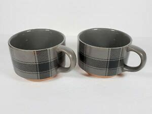 We have tons of stackable coffee mugs so that you can find what you are looking for this season. Set of 2 Target Threshold Soup Bowl Cups Mugs w/ Handles ...