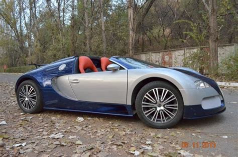 Atc studios is not just for performers: Replica Bugatti Veyron supercar replica for kids, it's real car