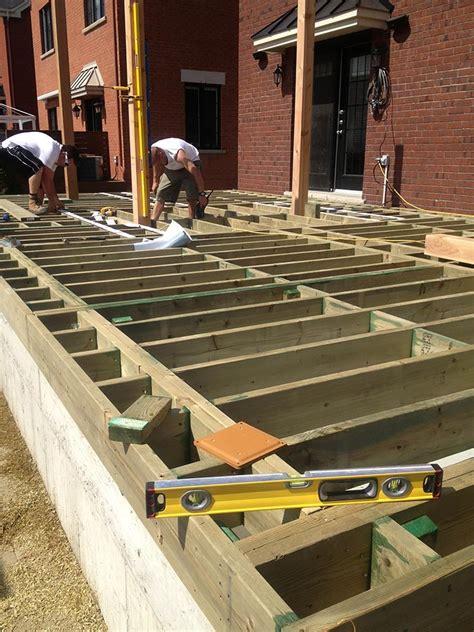 mat 233 riaux de structure de patio pur patio