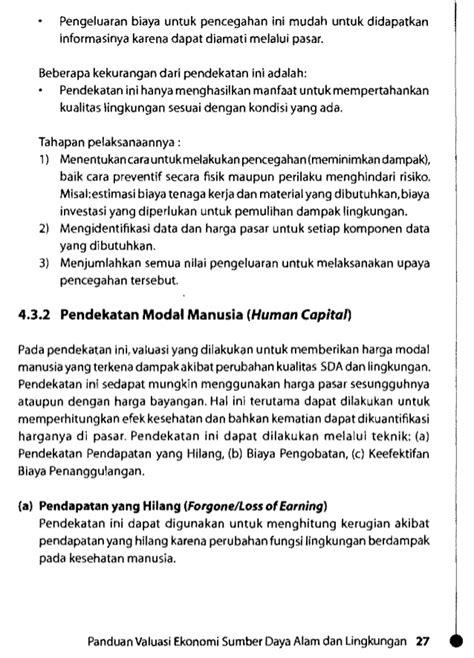 Ekoling3. valuasi ekonomi sda-klh
