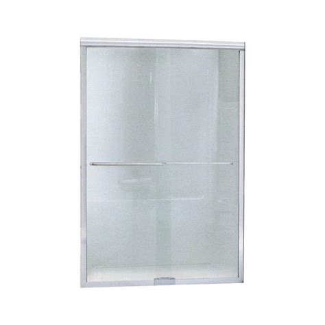 sterlingplumbing shower doors sterling finesse 45 1 2 in x 65 1 2 in semi frameless