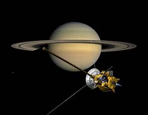 Cassini Legacy: 1997-2017 : Cassini at Saturn View 4