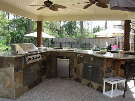 Outdoor Kitchen Design For A Wonderful Patio  Amaza Design
