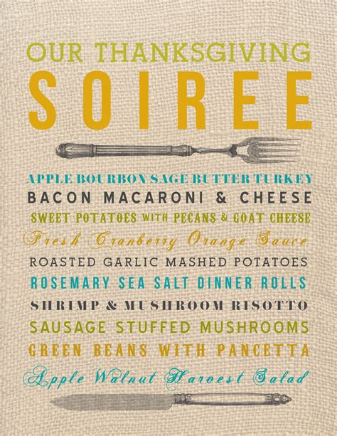 Kitchen Kabaret Thanksgiving Menu by Hello There House Kitchen Revival Our Thanksgiving Menu