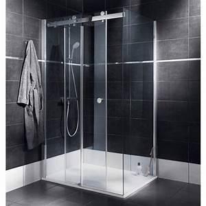 Porte Coulissante Douche : porte de douche coulissante palace salle de bains ~ Melissatoandfro.com Idées de Décoration