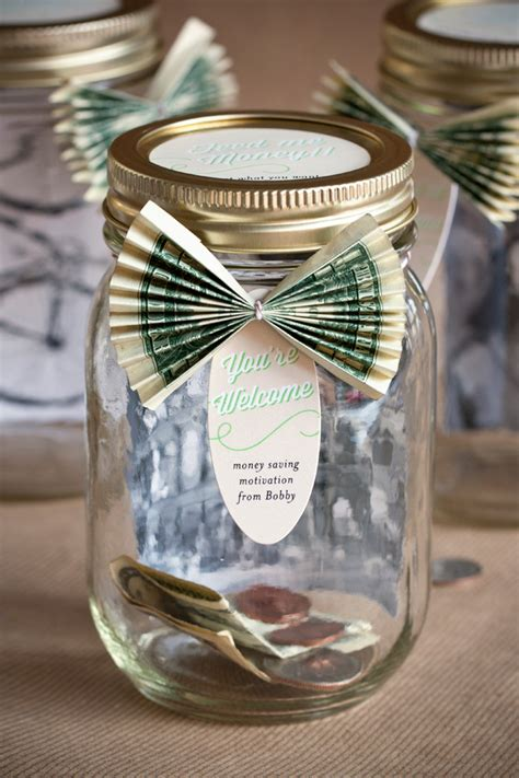 personalized savings jar party inspiration
