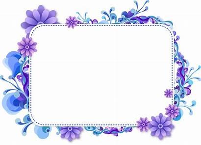 Girly Frame Clipart Flowers Sticker Transparent Webstockreview