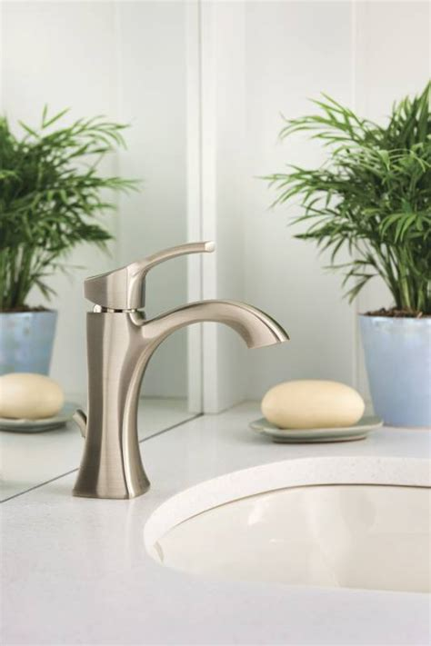 moen bn voss single handle high arc lavatory faucet