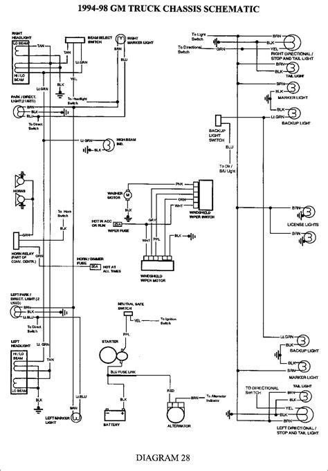 2000 Chevy Silverado Trailer Wiring Diagram by 2000 Chevy Silverado 1500 Trailer Wiring Diagram Trailer