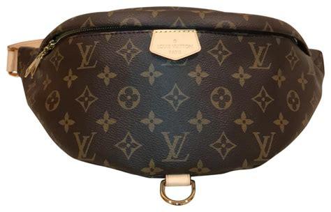 louis vuitton bumbag monogram canvas shoulder bag tradesy