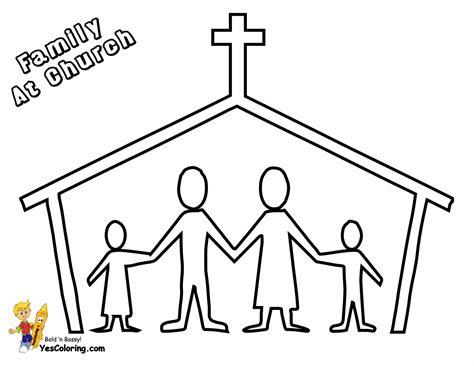 coloring pages  families   church   clip art  clip art
