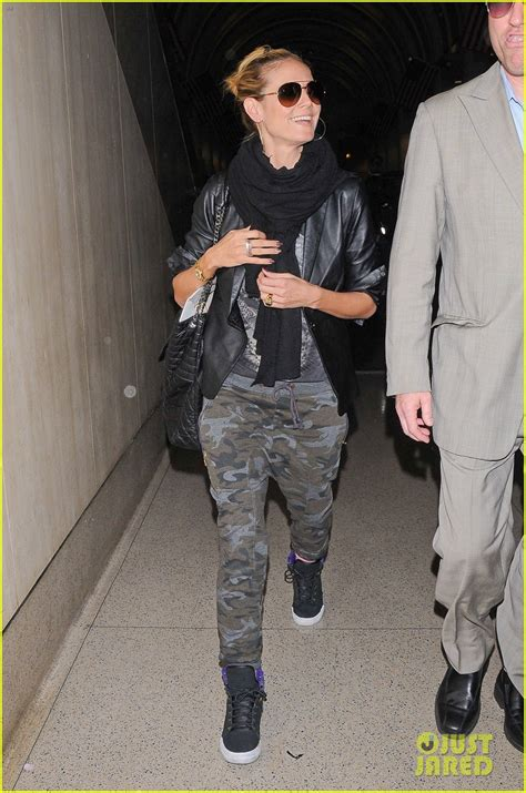 Heidi Klum Can Hide Her Gorgeous Looks Camouflage