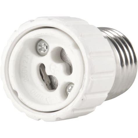 5 pack light bulb socket adapter standard us e26 medium